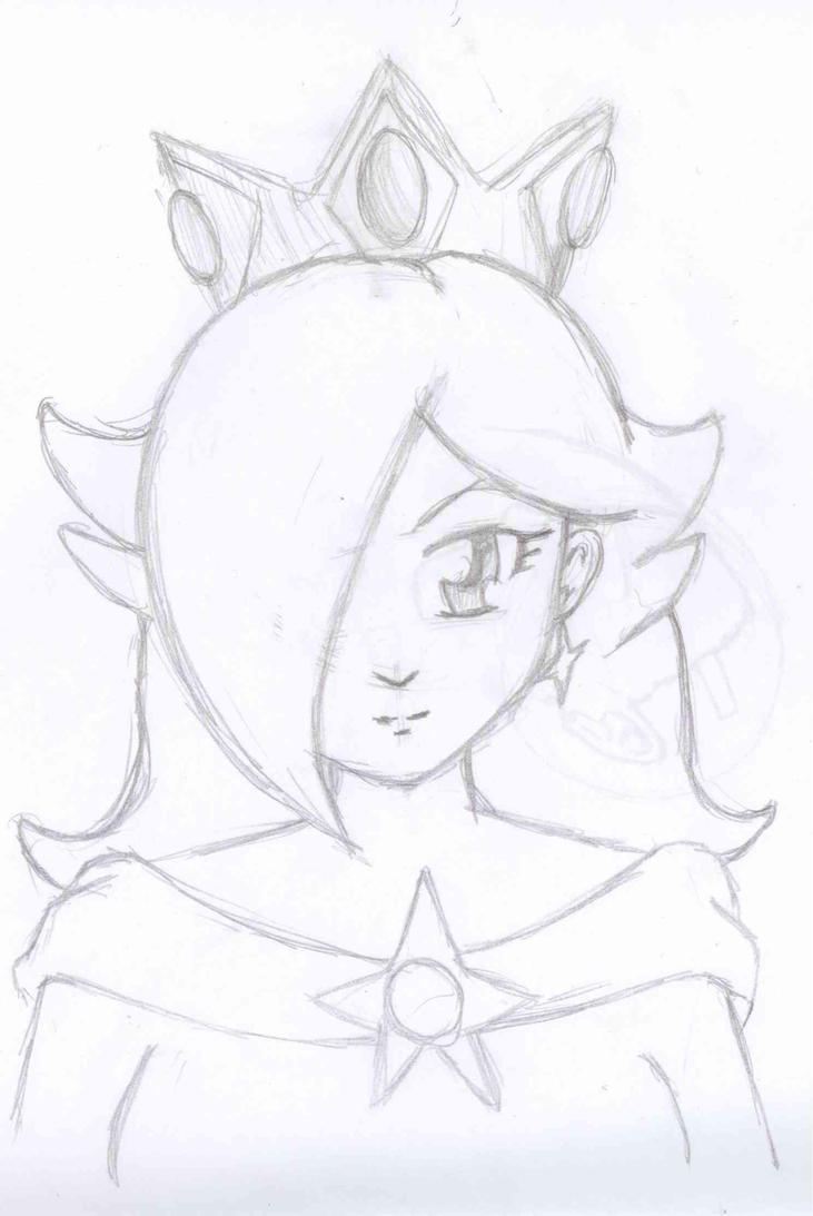 Princess rosalina coloring pages - Princess Rosalina By Mewtwo8