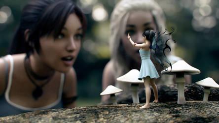 The Fairy by JohnFitzSquirrel