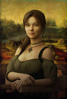 The Mona Lara by JohnFitzSquirrel