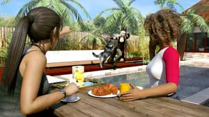 The Breakfast by JohnFitzSquirrel