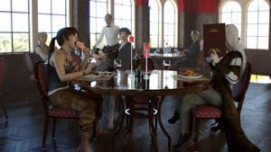 The Restaurant by JohnFitzSquirrel