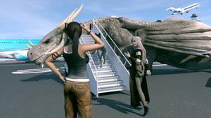 The Departure by JohnFitzSquirrel