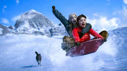 The Winter by JohnFitzSquirrel