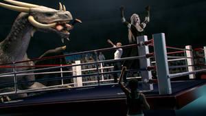 The Boxer by JohnFitzSquirrel