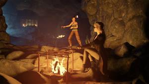 The Campfire by JohnFitzSquirrel