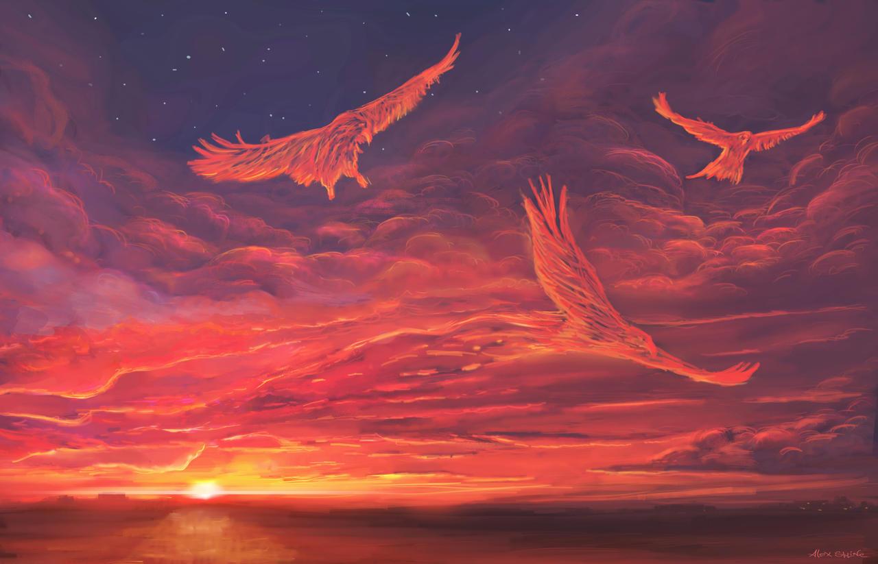 heavenly eagles