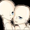 couple eye to eye base by Marlyyn
