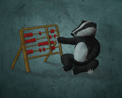 Abacus Badger by heminder