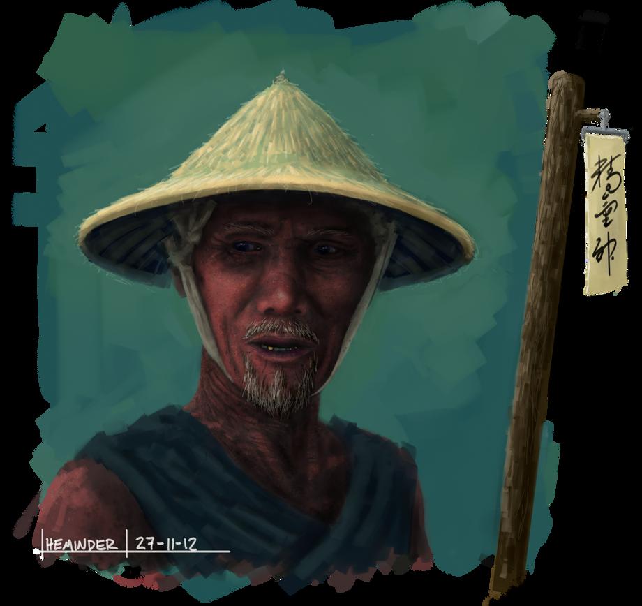 old man by heminder