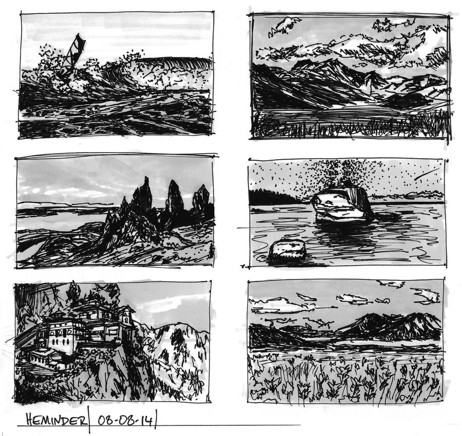 thumbnail studies 080814 by heminder