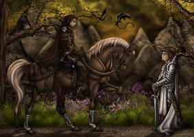 Waylander by Symerinart