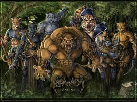 Rawen wallpaper - Gorhatos by Symerinart