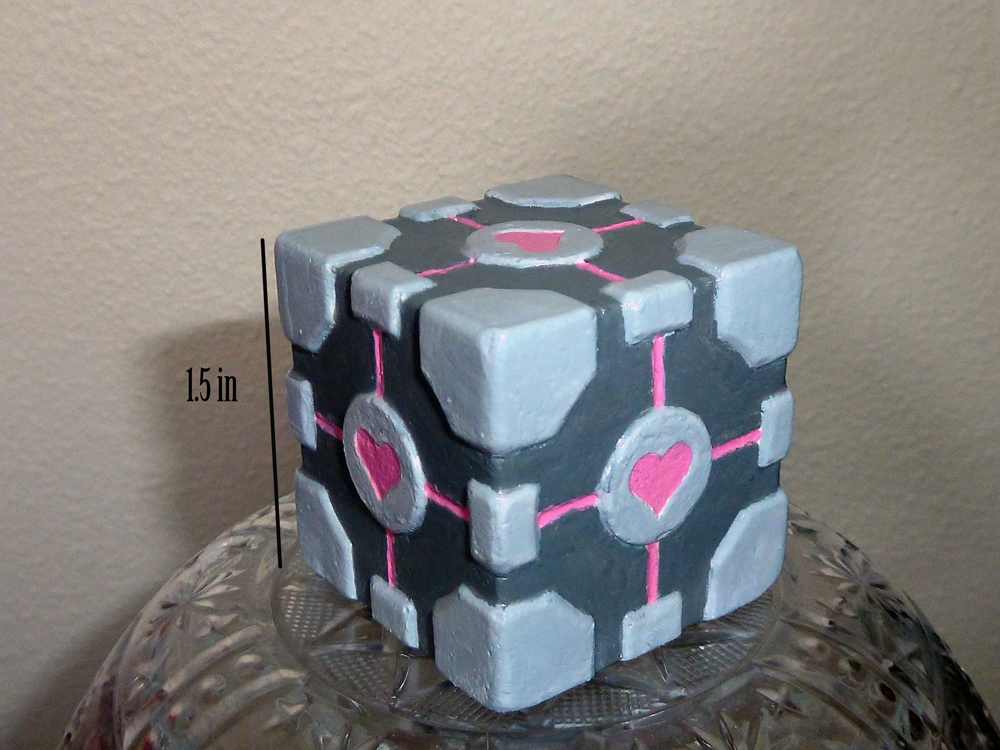 Companion Cube by Rhyara