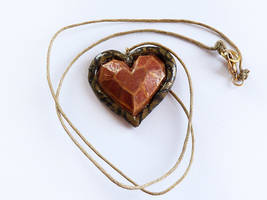 Zelda Heart Container Necklace [For Sale] by Rhyara
