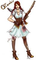 OZombie's Dorothy Concept Fanart by Rhyara
