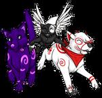 Haruka, Fey and Cherry