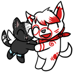 Chibi Fey and Cherry
