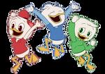 Huey, Dewey and Louie - DuckTales 2017