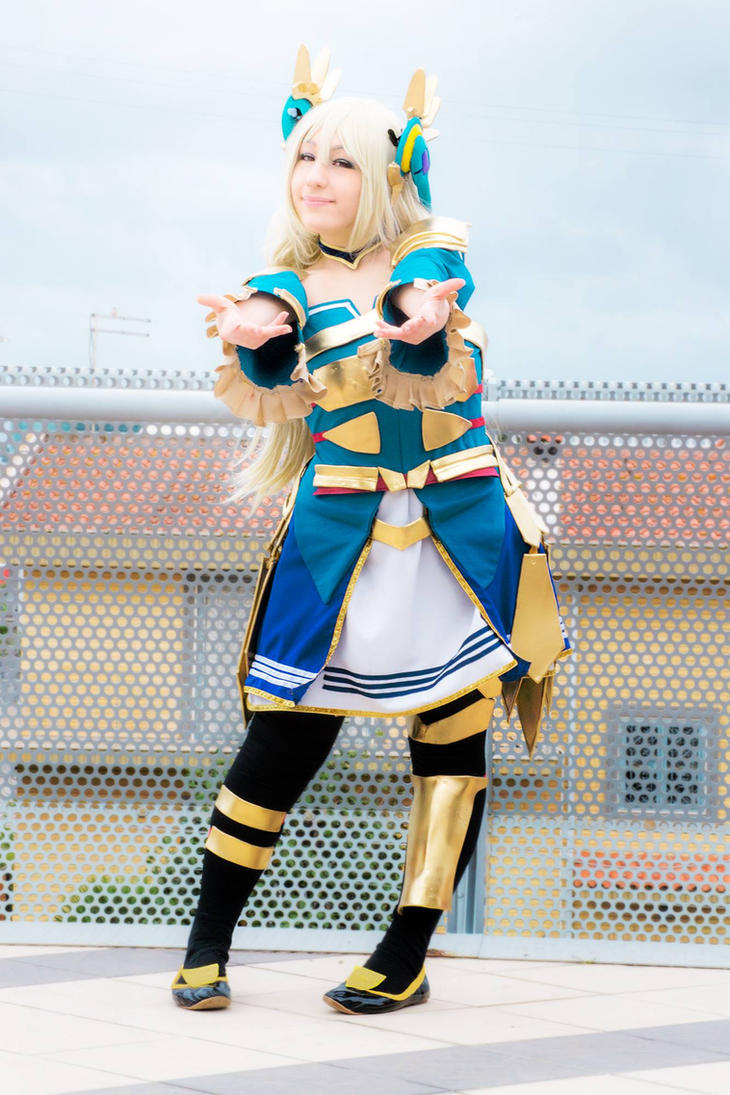 Cass Ar Nosurge cosplay by Giacchan