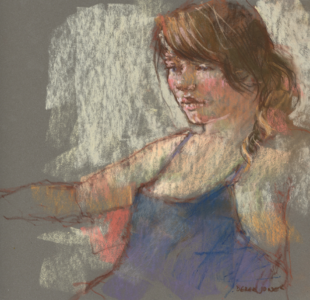 pastel study - new model by derekjones