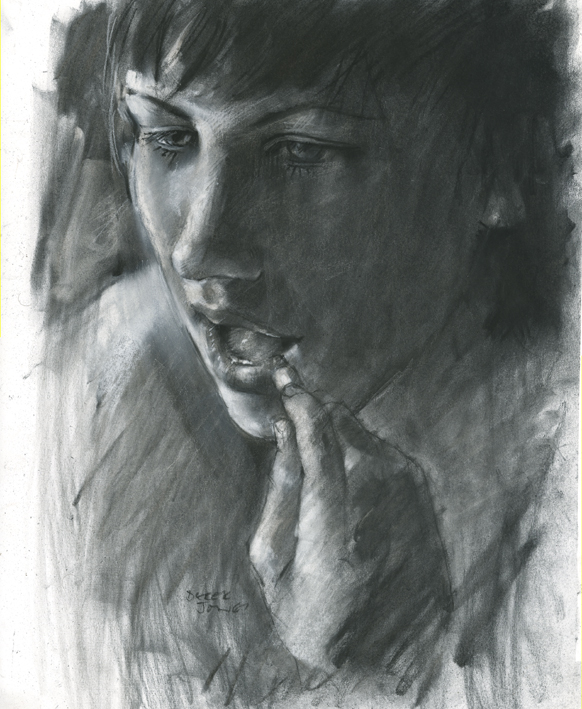 rough charcoal by derekjones