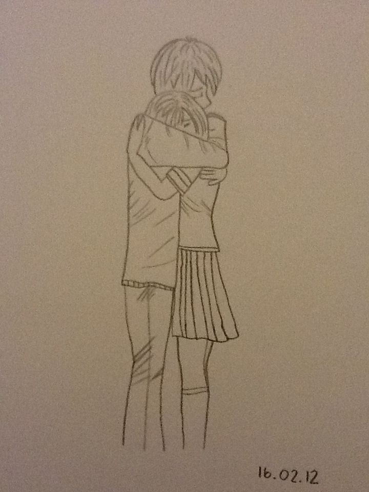 Girl and Boy Hugging by CrissaRush on DeviantArt