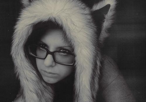 My winter hat, lol! by RoxySpaulding