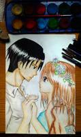 Levi and Petra by TheSingingAnimeFan