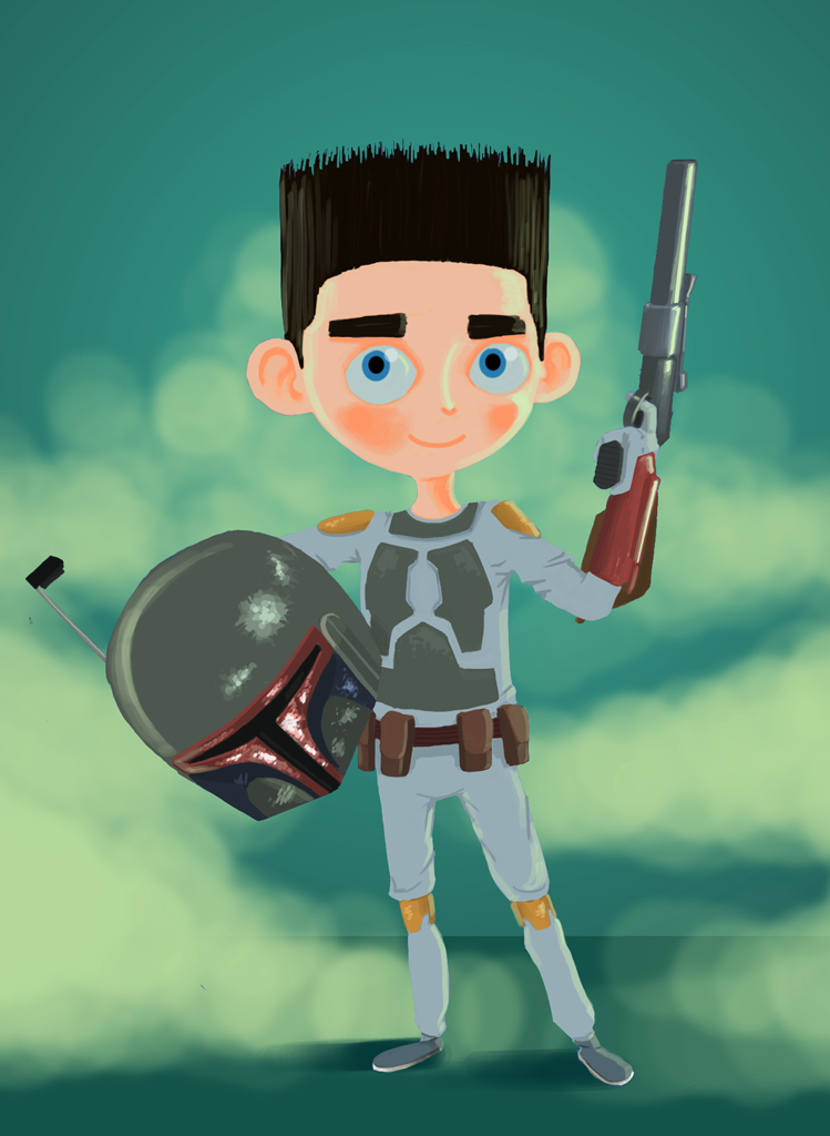 ParaNorman Boba Fett Cosplay by hecmx