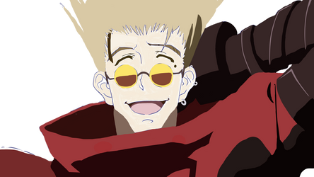 Vash-Trigun Color (WIP by FelonArt