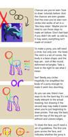How To Draw Ponies Tutorial by Shadestepwarrior