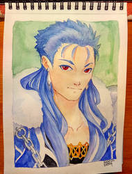 Aquarelle Caster by KeyHof
