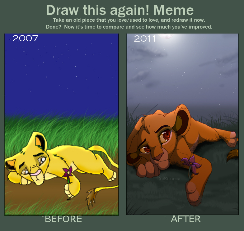 Redraw meme by Kitchiki