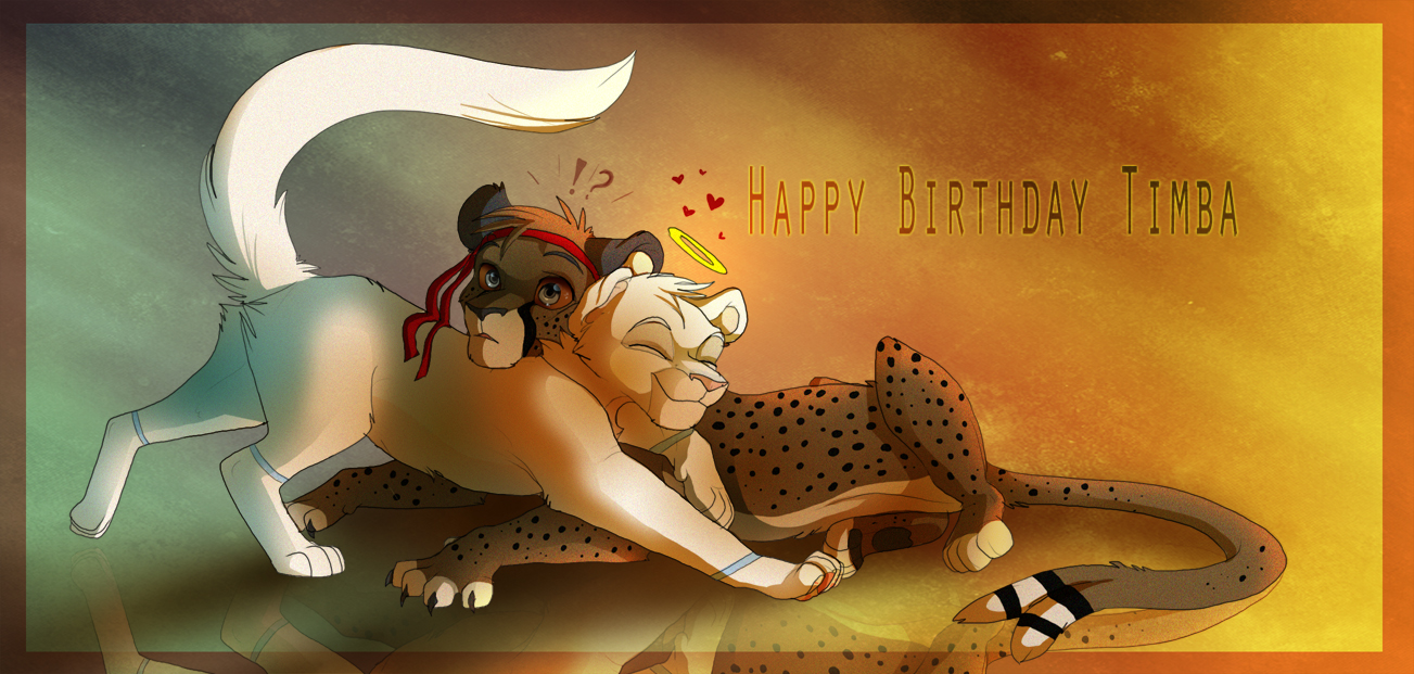 Happy Birthday Timba! by Kitchiki