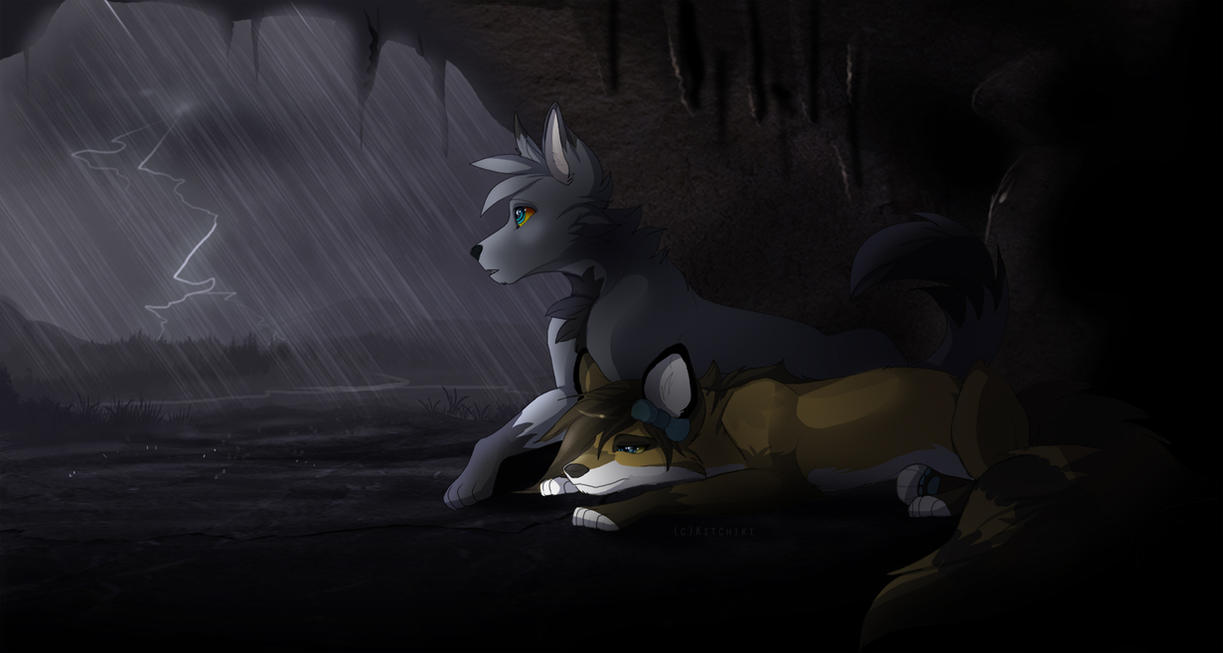 Comfort from the Storm by Kitchiki
