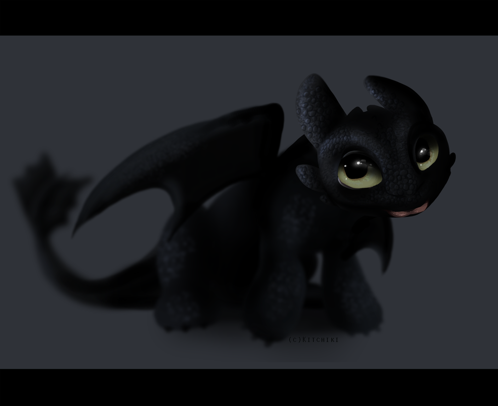 Baby Toothless By Kitchiki On DeviantArt