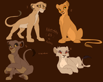 Lion King cub adoptables -ALL TAKEN-