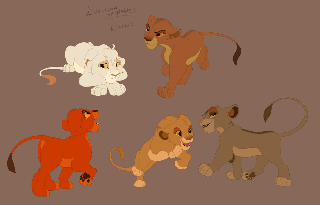 Lion King Cub Adopts By Kitchiki On DeviantArt