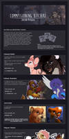Commission Price Sheet 2018