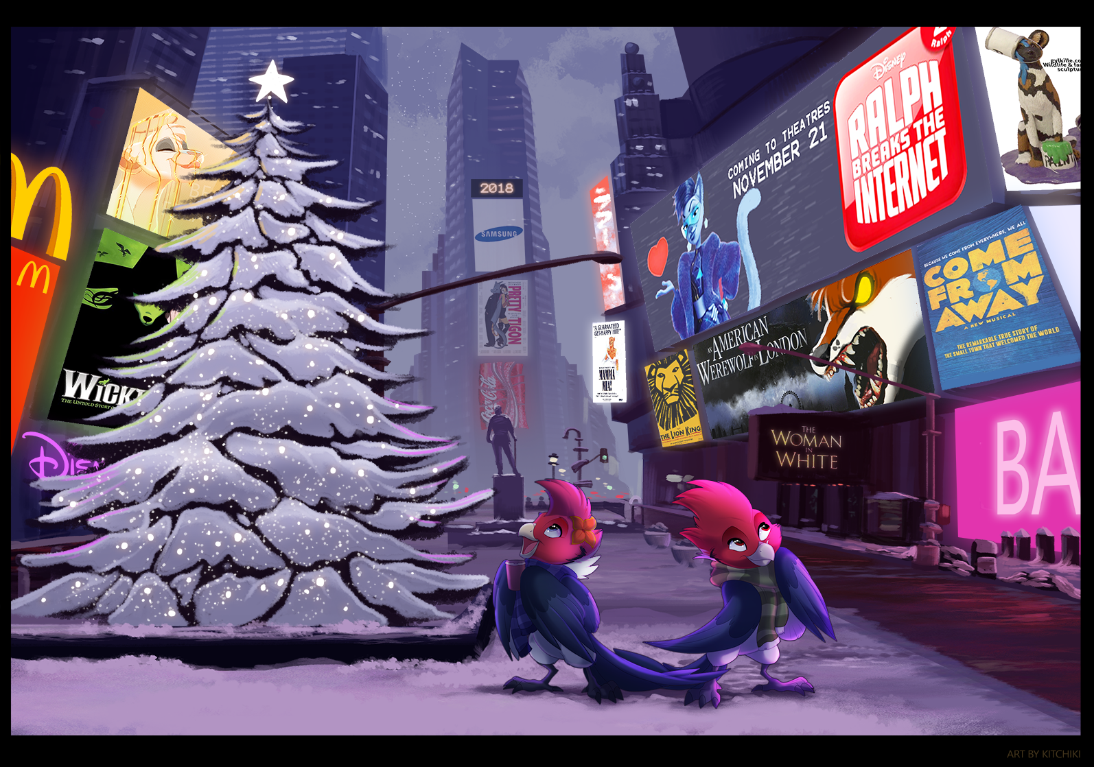 Christmas in New York by Kitchiki
