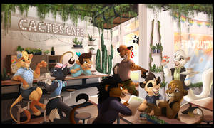 The Cactus Cafe by Kitchiki
