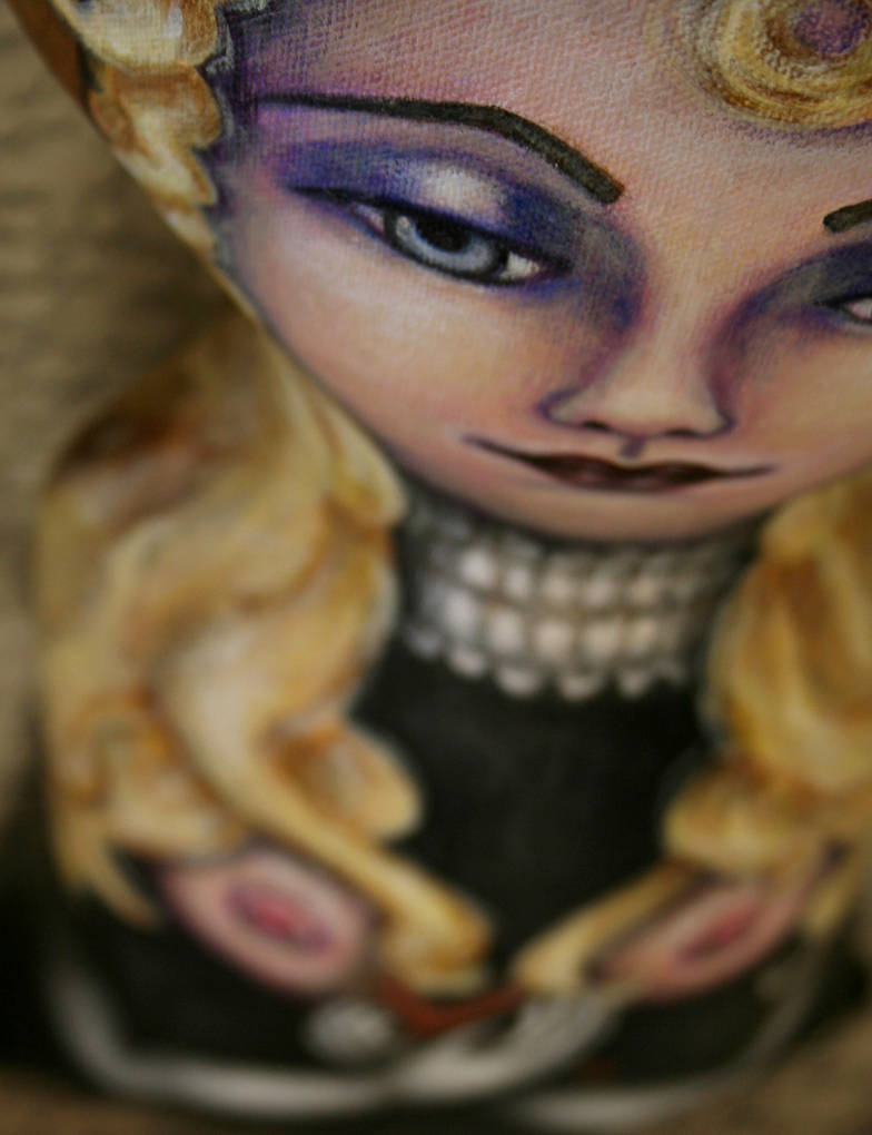 Gothic Saint Agatha by shotzineff