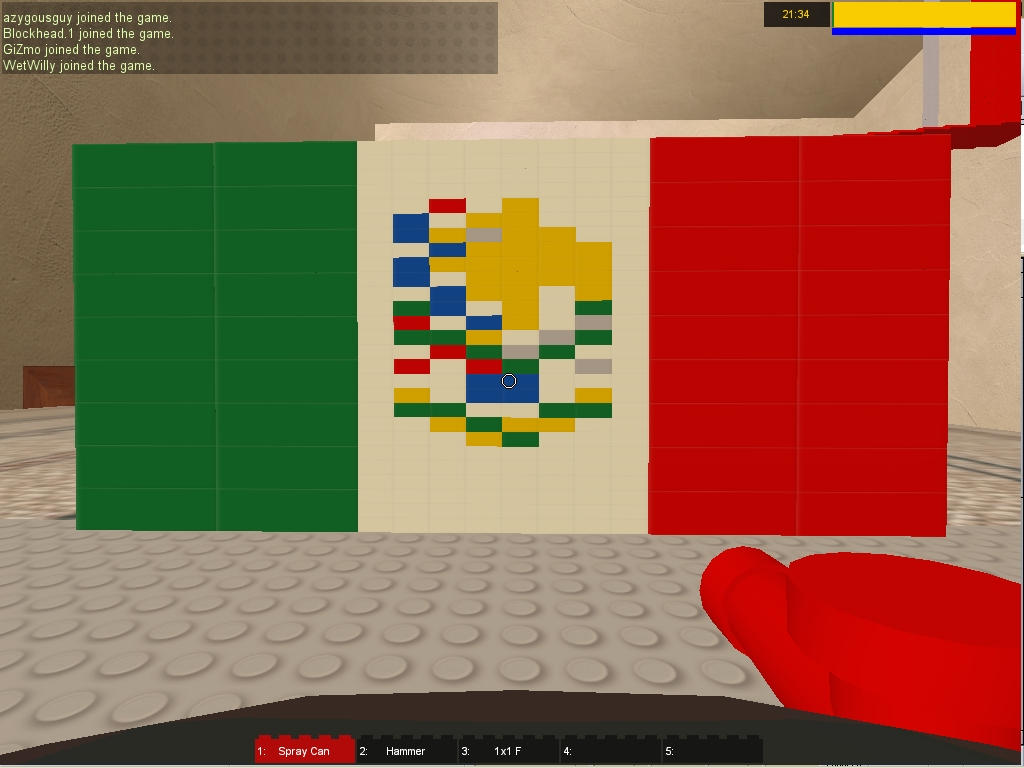 lego mexican flag mural by twothousandman on deviantart
