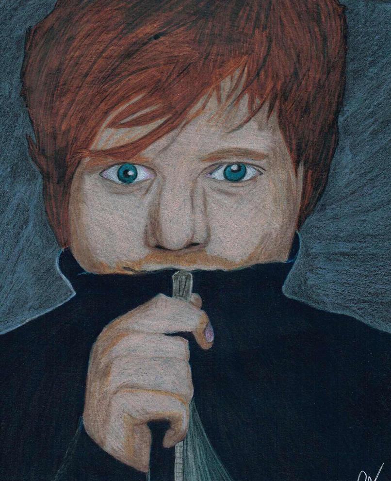 Ed Sheeran by KatSestoArt
