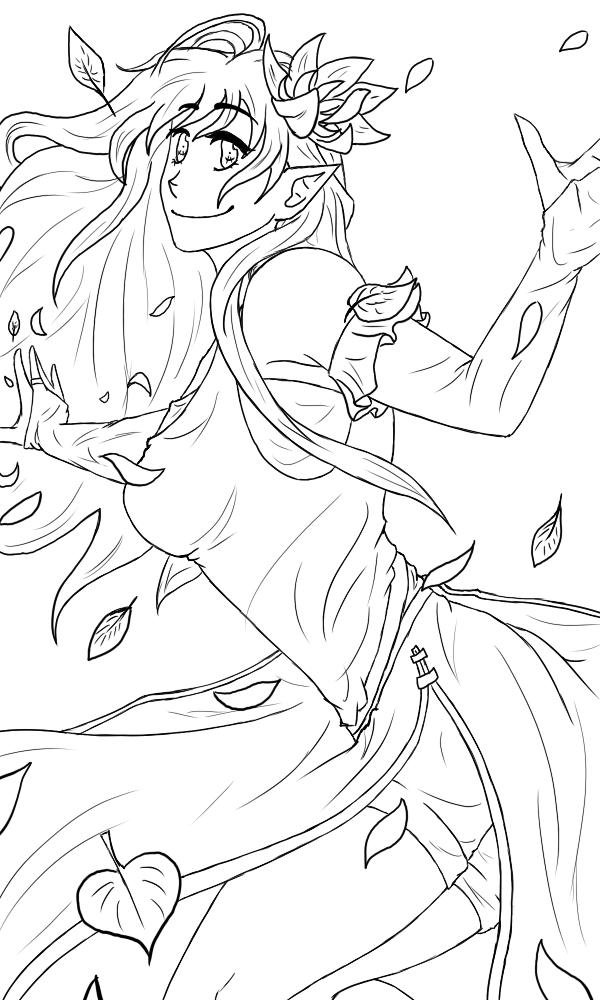 Kalisha - Goddess of Hope [Lines I Collab] by 19Rei-Sama