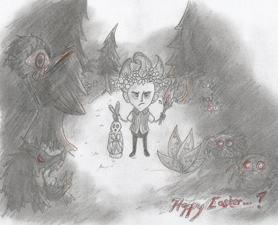 Dont starve - Happy Easter by 19Rei-Sama