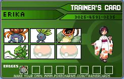 Pokemon: Reluctant Traveler Trainer: Erika by Omega-Killer