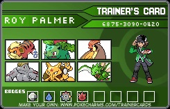 Pokemon Trainer: Roy Palmer by Omega-Killer