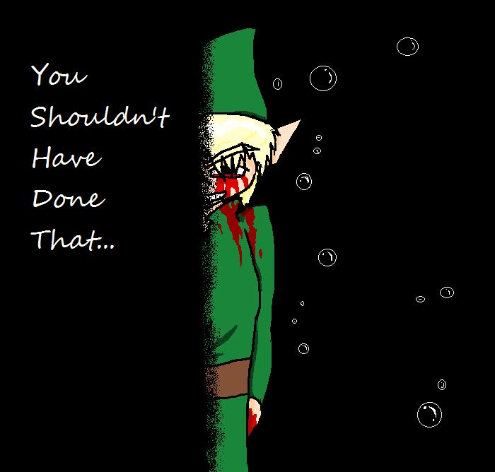 Ben drowned - Majoras Mask by SaintsSister47