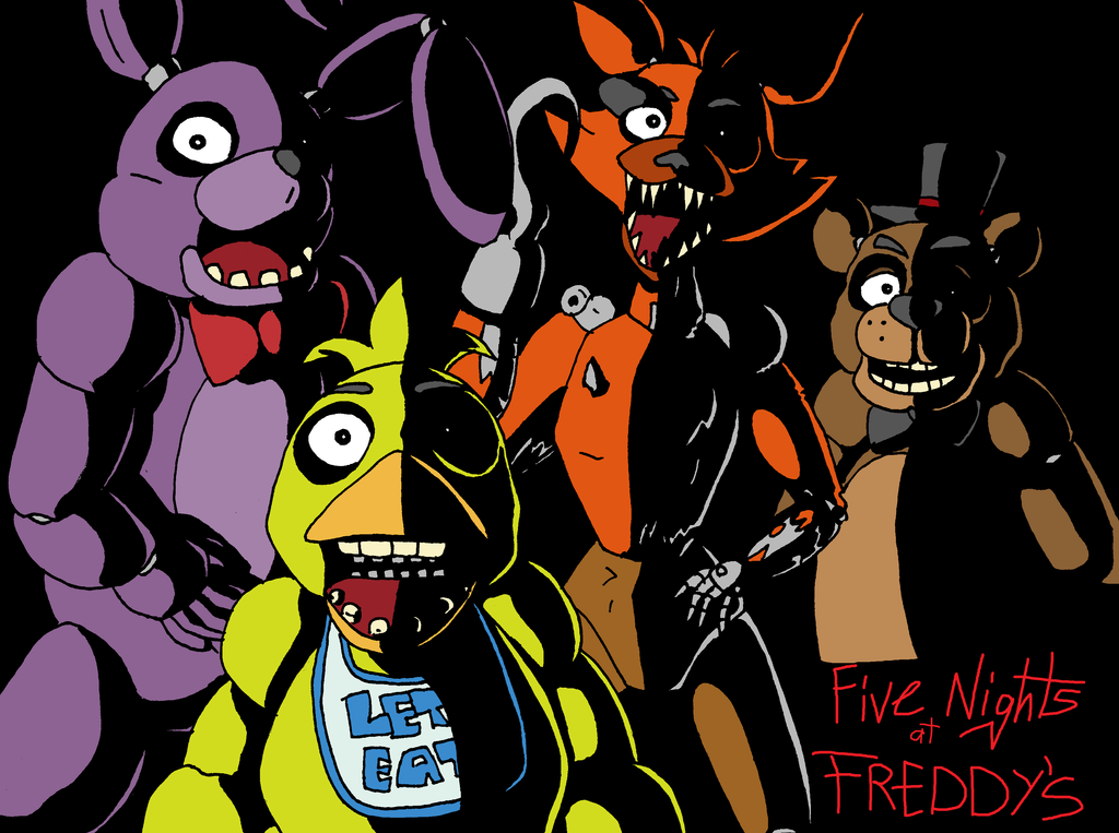 Five Nights At Freddy's by SaintsSister47